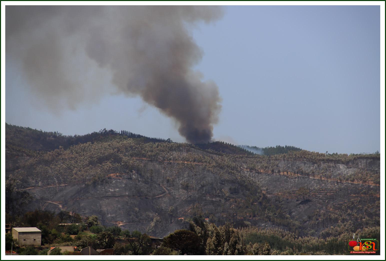 Incêndio na Serra de Monchique - Agosto / 2018